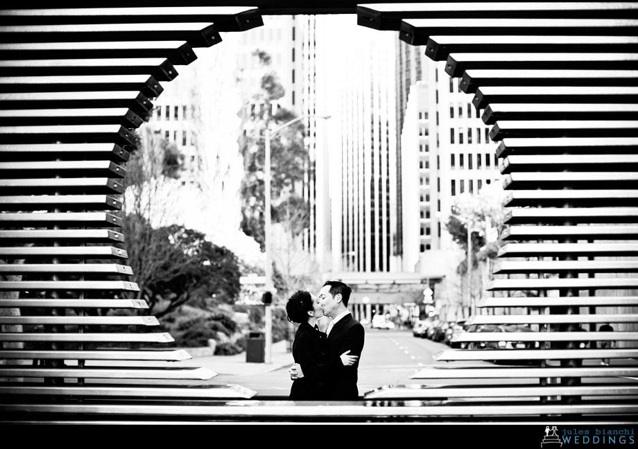 beautiful engagement portrait san francisco
