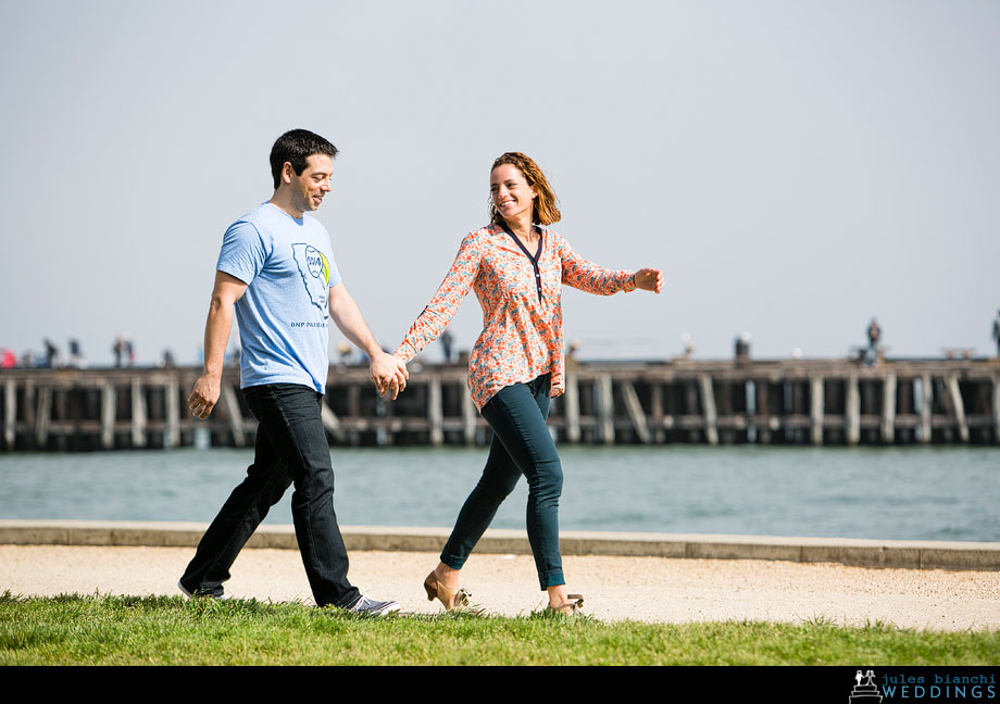 crissy field seward slides engagement shoot